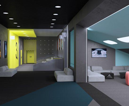 multiplex interieur