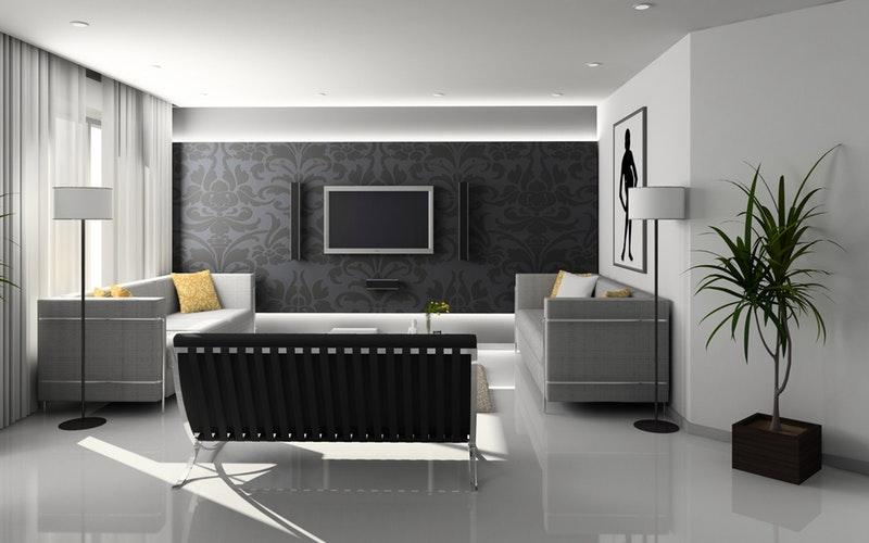 tv op muur