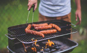 Een BBQ hoek in de tuin voor mannen