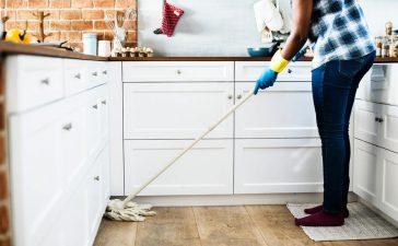 Efficiënter schoonmaken met een schoonmaakkar