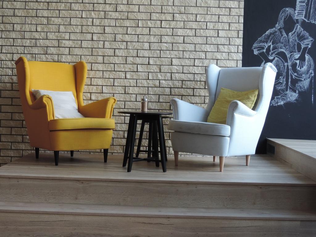 fauteuil in huis