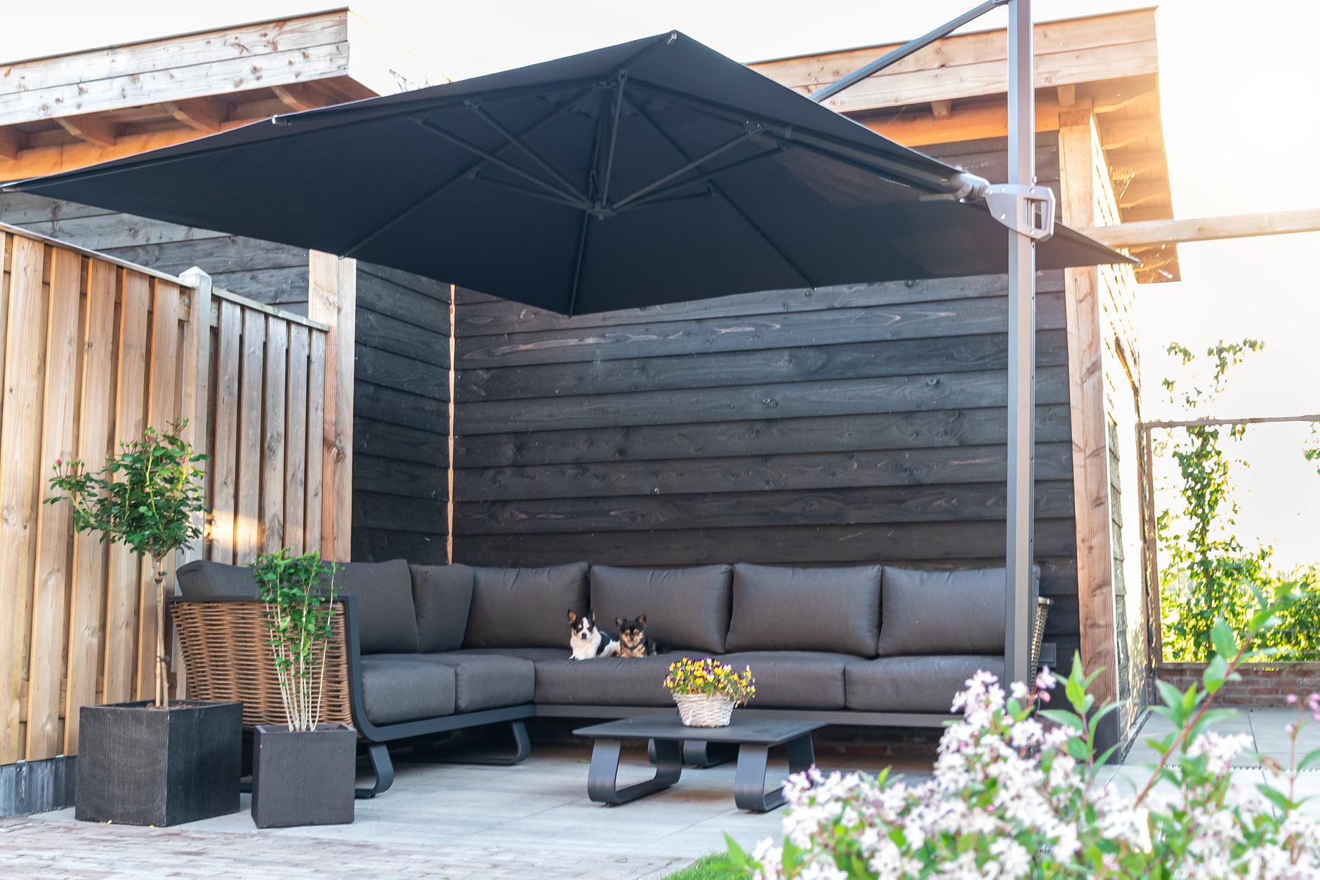 Verschillende soorten materialen voor een loungeset