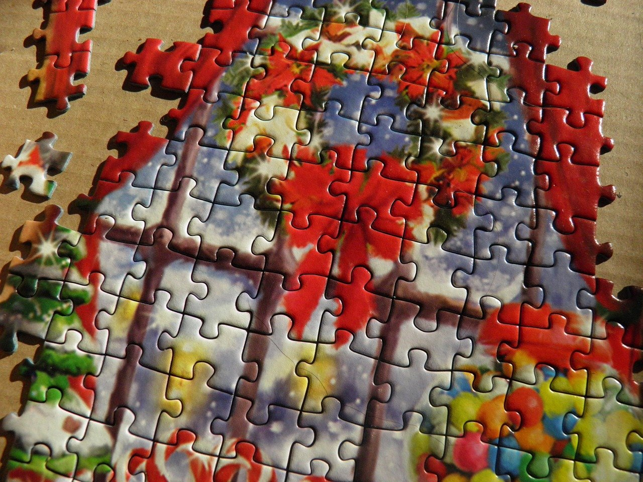 Puzzel Kerst